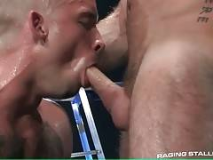 Handsome Toned Guys Enjoy Hot Oral 2