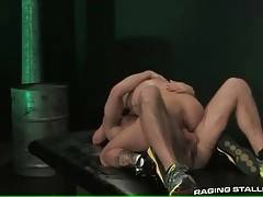This tough stud loves to feel friend`s dong inside his ass.