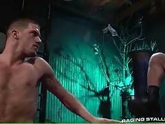 Jake reaches Ty and he moves his body to signal where he wants to be touched.