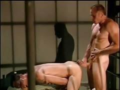 Bears Dino Dimarco and Hank Hightower make love in prison.