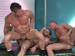Horny big daddies greatly enjoy cock sucking and ass licking.