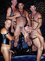 Huge bear orgy with whips and chains