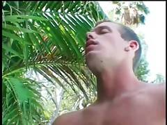 Two hot looking tough gays exchange awesome cock sucking.