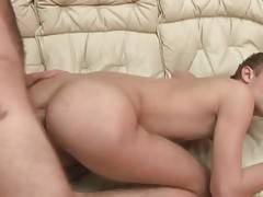 Slutty fellow gets his butt hole pounded by horny bear.