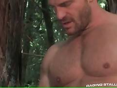 Hot Toned Studs Are Fucking In Forest 3