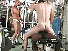 Three Friends Are Fucking After Workout 3
