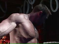 Horny Jake turns around to let Ty eat his eager asshole.