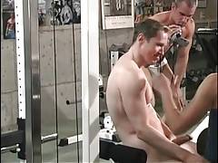 Tough Friends Get Horny In Gym 1